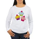 Cupcakes Women's Long Sleeve T-Shirt
