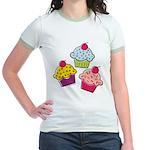 Cupcakes Jr. Ringer T-Shirt