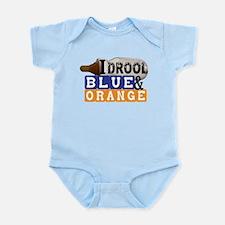 blue & orange Infant Bodysuit