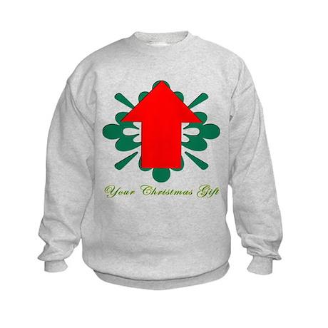 Christmas Gift is ME Kids Sweatshirt