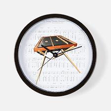 A Hemmer Dulcimer Wall Clock