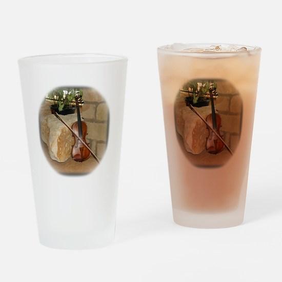 Grandpa's fiddle Drinking Glass