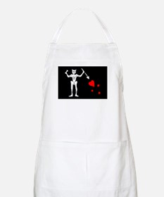 Flag of Blackbeard BBQ Apron