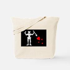 Flag of Blackbeard Tote Bag