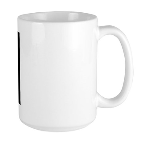 Flag of Blackbeard Large Mug