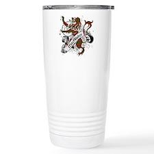 MacAlister Tartan Lion Travel Mug