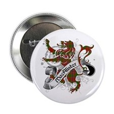 "MacAlister Tartan Lion 2.25"" Button"