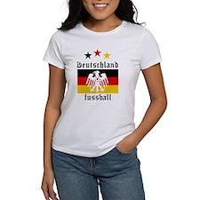 Deutschland Fussball Tee