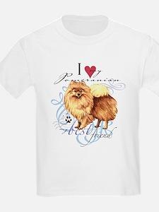 Pomeranian Kids T-Shirt