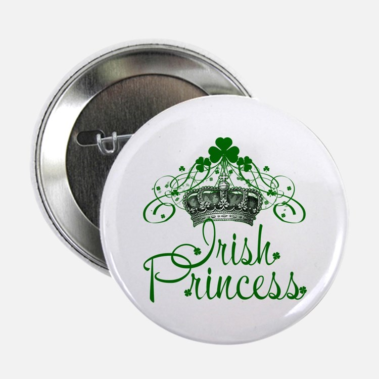 "Irish Princess 2.25"" Button"