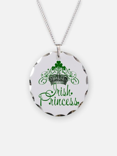 Irish Princess Necklace Circle Charm