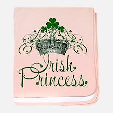 Irish Princess baby blanket