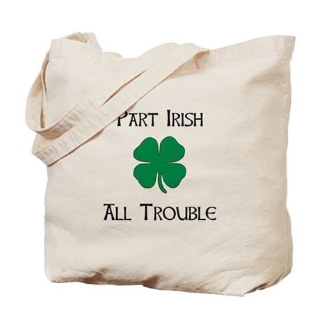 Part Irish Tote Bag