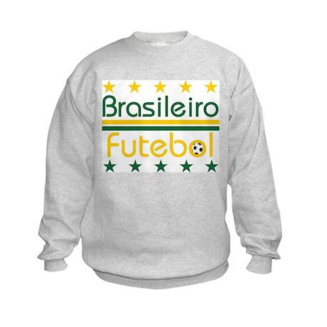 Brazilian Futebol Kids Sweatshirt