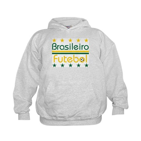 Brazilian Futebol Kids Hoodie