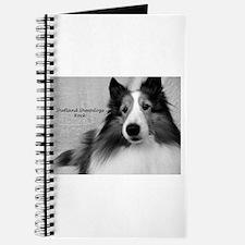 Shetland Sheepdogs Rock Journal