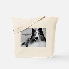 Shetland Sheepdogs Rock Tote Bag
