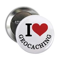 I Love Geocaching Button