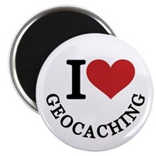 "I Love Geocaching 2.25"" Magnet (10 pack)"