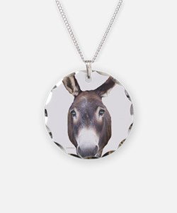 Donkey In Your Face Necklace