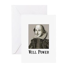 Will Power Greeting Card