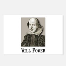 Will Power Postcards (Package of 8)