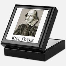 Will Power Keepsake Box