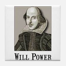 Will Power Tile Coaster
