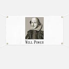 Will Power Banner