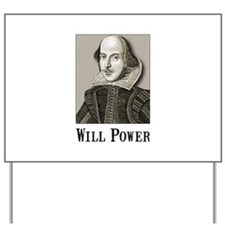 Will Power Yard Sign