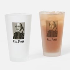 Will Power Drinking Glass