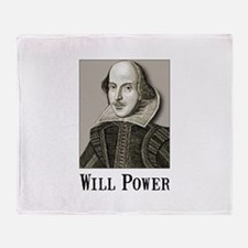Will Power Throw Blanket