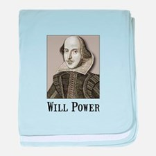 Will Power baby blanket