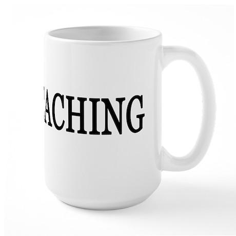 I Love Geocaching Large Mug
