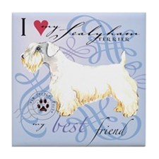 Sealyham Terrier Tile Coaster