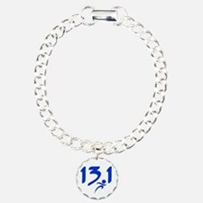 Blue 13.1 half-marathon Bracelet
