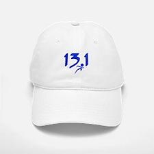 Blue 13.1 half-marathon Baseball Baseball Cap