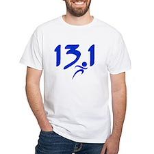 Blue 13.1 half-marathon Shirt