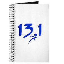 Blue 13.1 half-marathon Journal