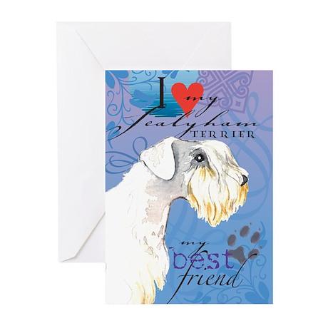 Sealyham Terrier Greeting Cards (Pk of 10)