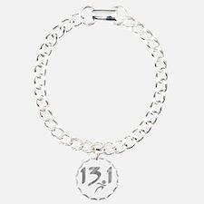 Silver 13.1 half-marathon Bracelet