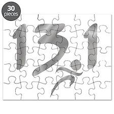 Silver 13.1 half-marathon Puzzle