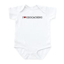 I Love Geocaching Infant Creeper