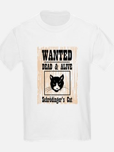 Wanted Schrodingers Cat T-Shirt