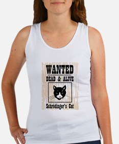 Wanted Schrodingers Cat Women's Tank Top