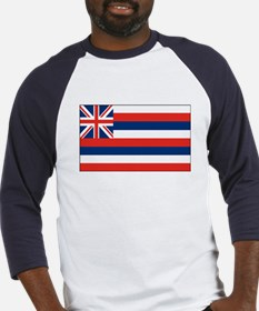 Hawaii State Flag Baseball Jersey