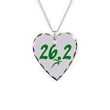 Green 26.2 Marathon Necklace