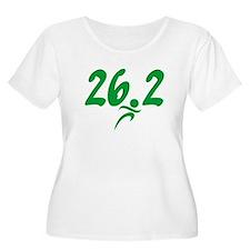Green 26.2 Marathon T-Shirt