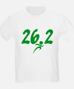 Green 26.2 Marathon T-Shirt