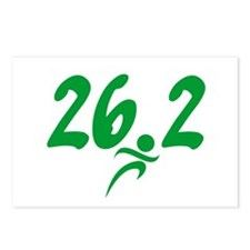 Green 26.2 Marathon Postcards (Package of 8)